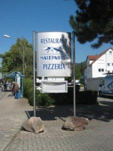 HD-Werbung Reinheim Darmstadt Pylone