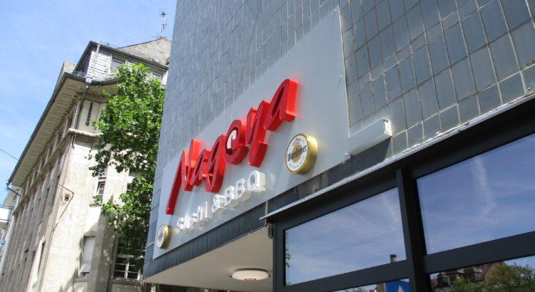 HD-Werbung Reinheim Darmstadt Reliefbuchstaben LED-Technik Nagoya