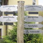 HD-Werbung Reinheim Darmstadt Wegweiser Kuralpe